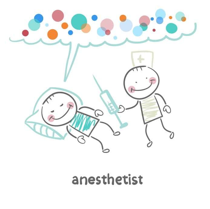 anestesia odontoiatria